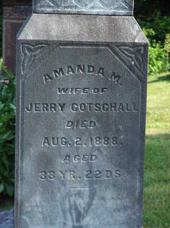 DOUGLASS GOTSCHALL, AMANDA - Meigs County, Ohio | AMANDA DOUGLASS GOTSCHALL - Ohio Gravestone Photos