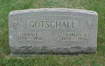 CARPENTER GOTSCHALL, EMMA E. - Meigs County, Ohio | EMMA E. CARPENTER GOTSCHALL - Ohio Gravestone Photos
