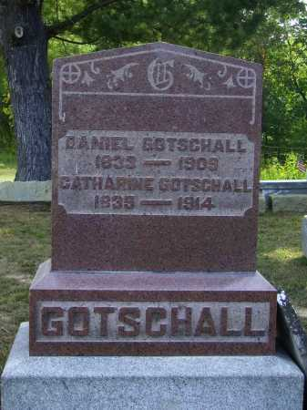 GOTSCHALL, DANIEL - Meigs County, Ohio | DANIEL GOTSCHALL - Ohio Gravestone Photos