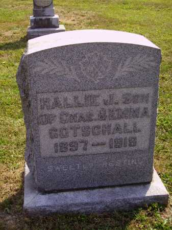 GOTSCHALL, HALLIE J. - Meigs County, Ohio | HALLIE J. GOTSCHALL - Ohio Gravestone Photos