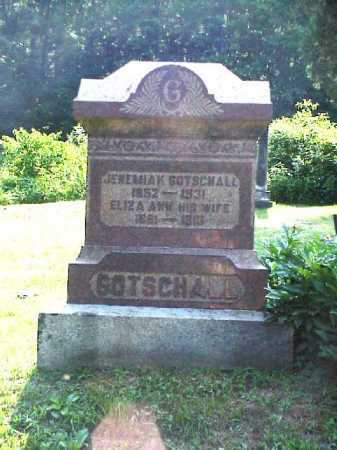 GOTSCHALL, ELIZA ANN - Meigs County, Ohio | ELIZA ANN GOTSCHALL - Ohio Gravestone Photos