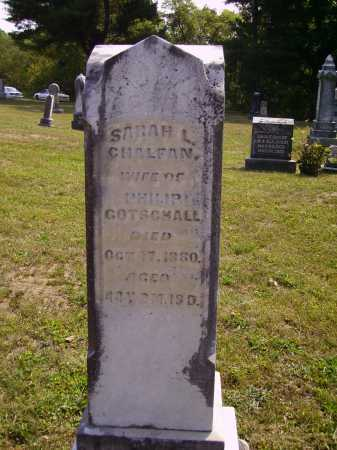 GOTSCHALL, SARAH L. - Meigs County, Ohio | SARAH L. GOTSCHALL - Ohio Gravestone Photos