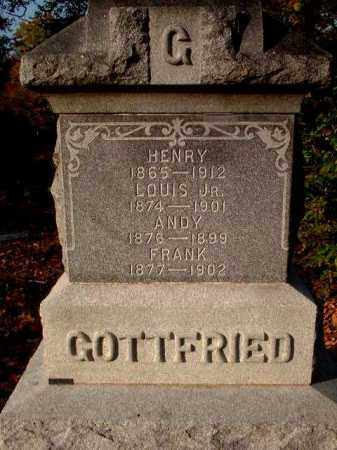 GOTTFRIED, HENRY - Meigs County, Ohio | HENRY GOTTFRIED - Ohio Gravestone Photos