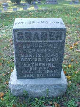 GRABER, AUGUSTINE - Meigs County, Ohio | AUGUSTINE GRABER - Ohio Gravestone Photos