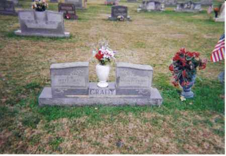 JUSTICE GRADY, BETTY JEAN - Meigs County, Ohio | BETTY JEAN JUSTICE GRADY - Ohio Gravestone Photos