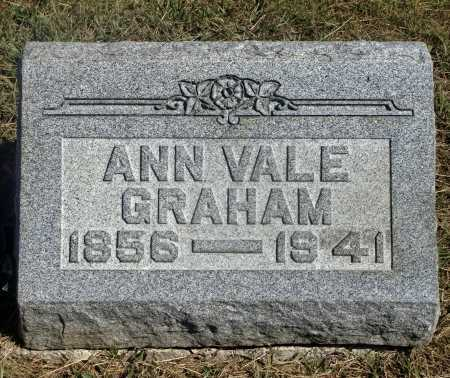 GRAHAM, ANN - Meigs County, Ohio | ANN GRAHAM - Ohio Gravestone Photos