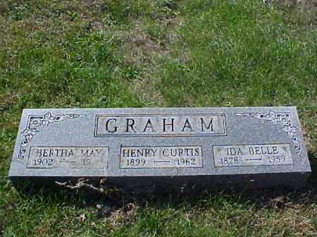 GRAHAM, IDA BELLE - Meigs County, Ohio | IDA BELLE GRAHAM - Ohio Gravestone Photos