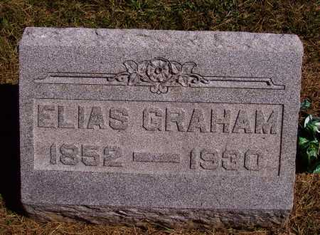 GRAHAM, ELIAS - Meigs County, Ohio | ELIAS GRAHAM - Ohio Gravestone Photos