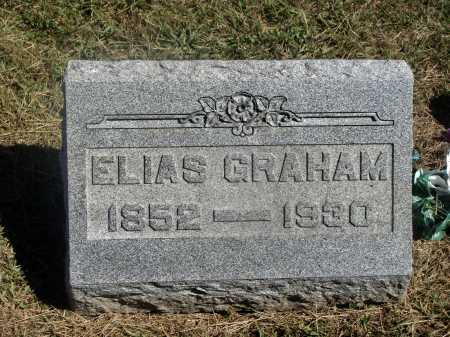 GRAHAM, ELIAS - Meigs County, Ohio | ELIAS GRAHAM - Ohio Gravestone Photos