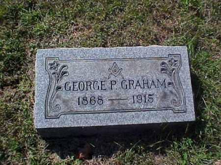 GRAHAM, GEORGE P. - Meigs County, Ohio | GEORGE P. GRAHAM - Ohio Gravestone Photos