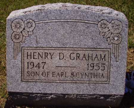 GRAHAM, HENRY D. - Meigs County, Ohio | HENRY D. GRAHAM - Ohio Gravestone Photos