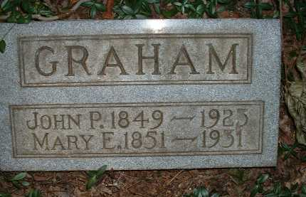 GRAHAM, JOHN P. - Meigs County, Ohio | JOHN P. GRAHAM - Ohio Gravestone Photos