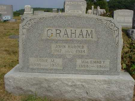 GRAHAM, JOHN HAROLD - Meigs County, Ohio | JOHN HAROLD GRAHAM - Ohio Gravestone Photos