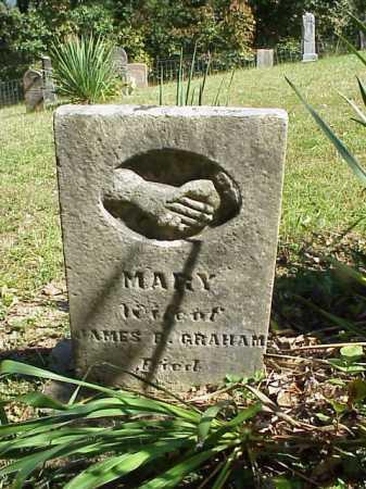 GRAHAM, MARY - Meigs County, Ohio | MARY GRAHAM - Ohio Gravestone Photos