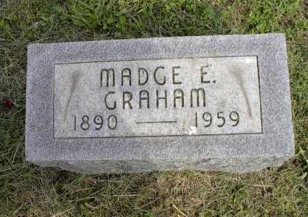 WILLIAMS GRAHAM, MADGE E. - Meigs County, Ohio | MADGE E. WILLIAMS GRAHAM - Ohio Gravestone Photos