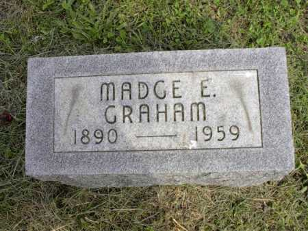 GRAHAM, MADGE E. - Meigs County, Ohio | MADGE E. GRAHAM - Ohio Gravestone Photos