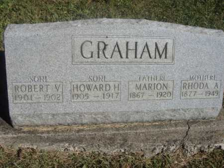 GRAHAM, MARION [FRANCIS MARION] - Meigs County, Ohio | MARION [FRANCIS MARION] GRAHAM - Ohio Gravestone Photos