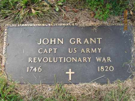 GRANT, JOHN - Meigs County, Ohio | JOHN GRANT - Ohio Gravestone Photos