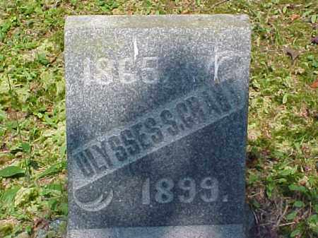 GRANT, ULYSSES S. - Meigs County, Ohio | ULYSSES S. GRANT - Ohio Gravestone Photos
