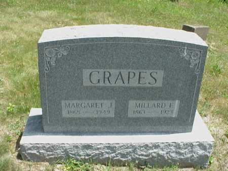 GRAPES, MARGARET J. - Meigs County, Ohio | MARGARET J. GRAPES - Ohio Gravestone Photos