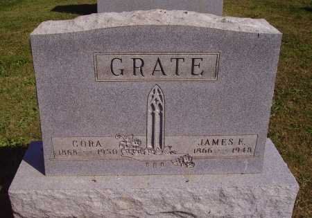 GREGORY GRATE, CORA - Meigs County, Ohio | CORA GREGORY GRATE - Ohio Gravestone Photos