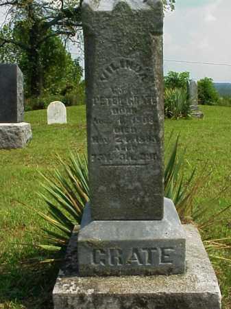 BARTON GRATE, VILINDA - Meigs County, Ohio | VILINDA BARTON GRATE - Ohio Gravestone Photos