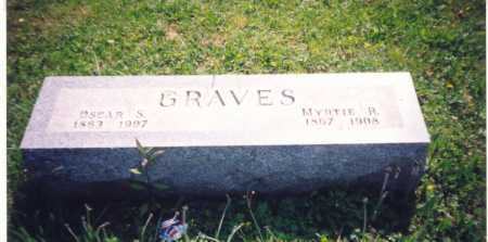 GRAVES, OSCAR S. - Meigs County, Ohio | OSCAR S. GRAVES - Ohio Gravestone Photos