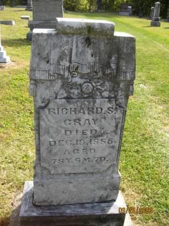 GRAY, RICHARD S. - Meigs County, Ohio | RICHARD S. GRAY - Ohio Gravestone Photos