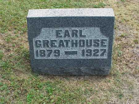 GREATHOUSE, EARL - Meigs County, Ohio | EARL GREATHOUSE - Ohio Gravestone Photos
