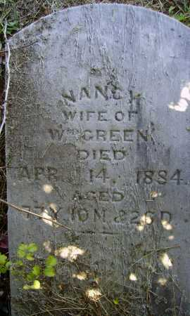 GREEN, NANCY - Meigs County, Ohio | NANCY GREEN - Ohio Gravestone Photos