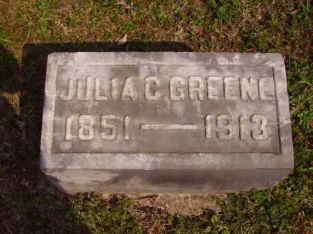 SHAW GREENE, JULIA C. - Meigs County, Ohio | JULIA C. SHAW GREENE - Ohio Gravestone Photos