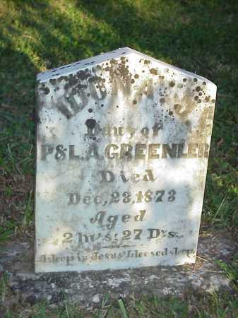 GREENLER, IDONA J. - Meigs County, Ohio | IDONA J. GREENLER - Ohio Gravestone Photos