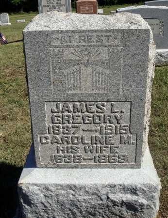 GREGORY, JAMES L. - Meigs County, Ohio | JAMES L. GREGORY - Ohio Gravestone Photos