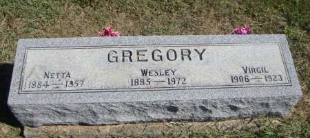 GREGORY, NETTA - Meigs County, Ohio | NETTA GREGORY - Ohio Gravestone Photos