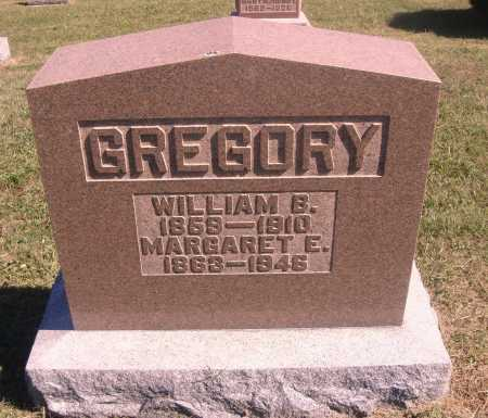 GREGORY, WILLIAM B. - Meigs County, Ohio | WILLIAM B. GREGORY - Ohio Gravestone Photos