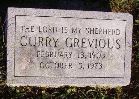 GREVIOUS, CURRY - Meigs County, Ohio | CURRY GREVIOUS - Ohio Gravestone Photos