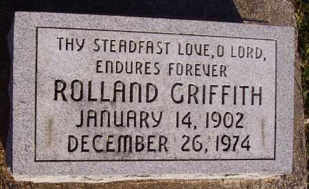 GRIFFITH, ROLLAND - Meigs County, Ohio | ROLLAND GRIFFITH - Ohio Gravestone Photos