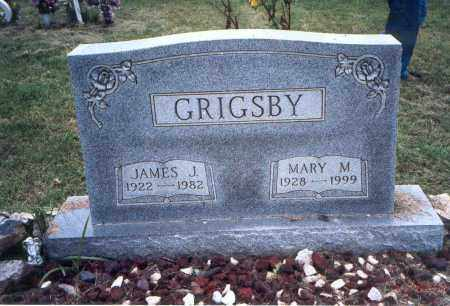 GRIGSBY, MARY M. - Meigs County, Ohio | MARY M. GRIGSBY - Ohio Gravestone Photos
