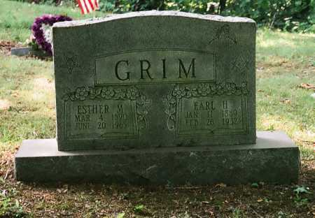 GRIM, ESTHER M. - Meigs County, Ohio | ESTHER M. GRIM - Ohio Gravestone Photos