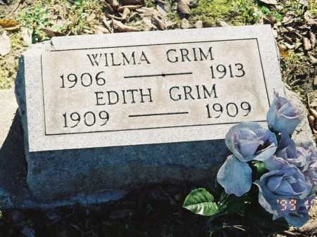 GRIM, WILMA - Meigs County, Ohio | WILMA GRIM - Ohio Gravestone Photos