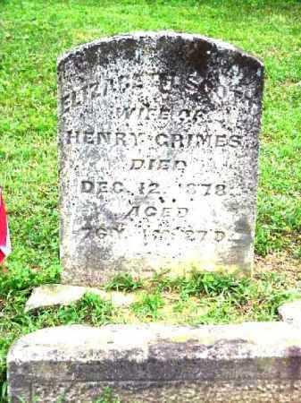 SCOTT GRIME, ELIZABETH - Meigs County, Ohio | ELIZABETH SCOTT GRIME - Ohio Gravestone Photos