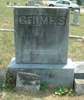 GRIMES, ROYAL - OVERALL VIEW - Meigs County, Ohio | ROYAL - OVERALL VIEW GRIMES - Ohio Gravestone Photos