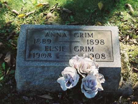 GRIMM, ANNA - Meigs County, Ohio | ANNA GRIMM - Ohio Gravestone Photos