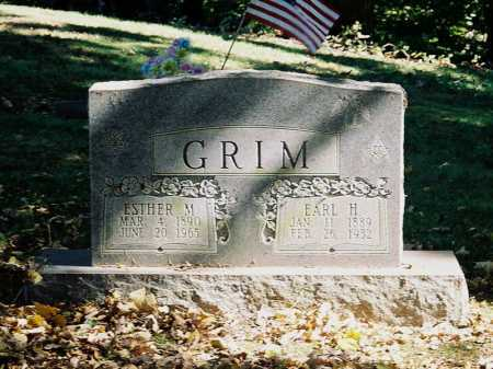 GRIMM, ESTHER M. - Meigs County, Ohio | ESTHER M. GRIMM - Ohio Gravestone Photos