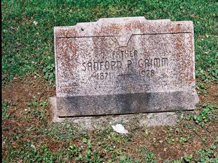GRIMM, SANFORD P. - Meigs County, Ohio | SANFORD P. GRIMM - Ohio Gravestone Photos