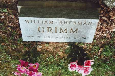 GRIMM, WILLIAM SHERMAN - Meigs County, Ohio | WILLIAM SHERMAN GRIMM - Ohio Gravestone Photos