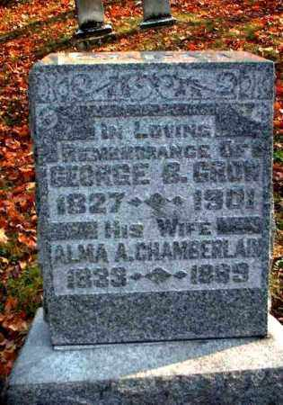 GROW, ALMA A. - Meigs County, Ohio | ALMA A. GROW - Ohio Gravestone Photos