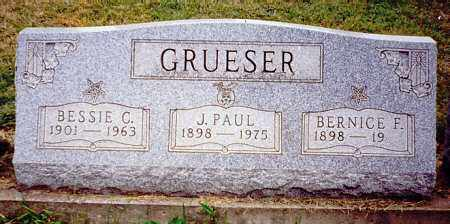 GRUESER, J. PAUL - Meigs County, Ohio | J. PAUL GRUESER - Ohio Gravestone Photos
