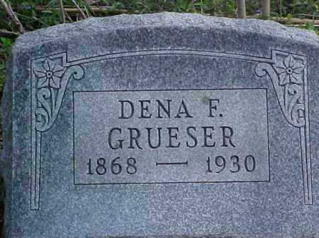 GRUESER, DENA F. - Meigs County, Ohio | DENA F. GRUESER - Ohio Gravestone Photos