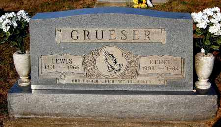 GRUESER, ETHEL - Meigs County, Ohio | ETHEL GRUESER - Ohio Gravestone Photos